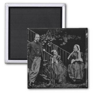 Retrato de la familia de Rossetti 1864 Imán