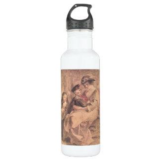 Retrato de la familia del artista de Paul Rubens Botella De Agua De Acero Inoxidable