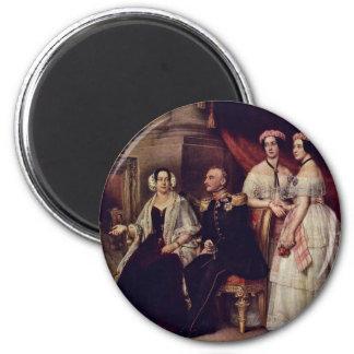 Retrato de la familia del duque José Of Saxe-Alten Imanes