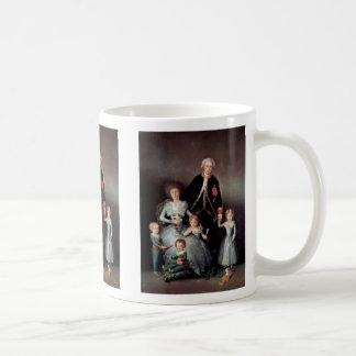 Retrato de la familia del duque Of Osuna Taza De Café