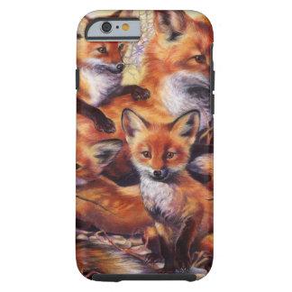 Retrato de la familia del Fox