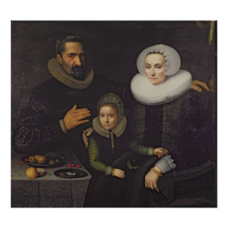 Retrato de la familia poster