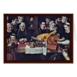Retrato de la familia Van Berchem By Floris Franci Felicitacion