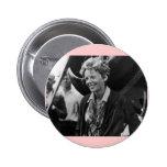 Retrato de la foto de Amelia Earhart del vintage Pin