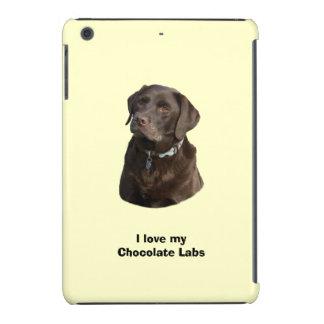 Retrato de la foto del perro de Labrador del Fundas De iPad Mini