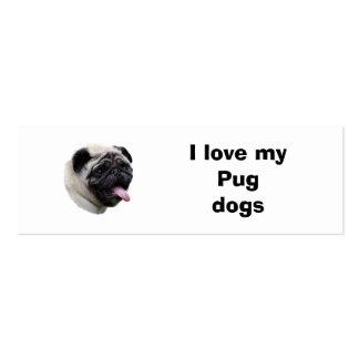 Retrato de la foto del perro del barro amasado plantillas de tarjetas personales