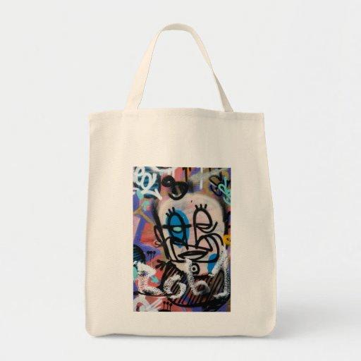 Retrato de la historia de las pintadas bolsa