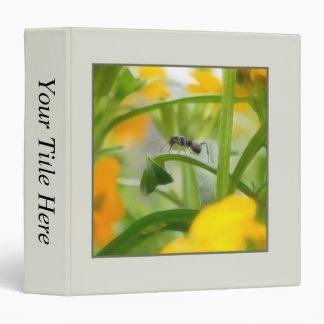 """Retrato de la hormiga con los Wallflowers Carpeta 1 1/2"""""""