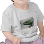 Retrato de la iguana camiseta