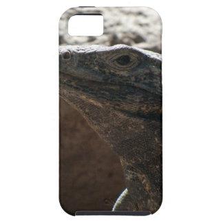 Retrato de la iguana iPhone 5 carcasa