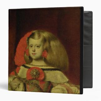 """Retrato de la infanta Margarita Carpeta 1 1/2"""""""