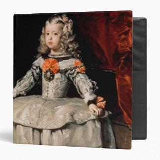 """Retrato de la infanta Margarita envejecida cinco Carpeta 1 1/2"""""""