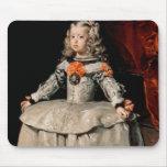 Retrato de la infanta Margarita envejecida cinco Tapetes De Ratones