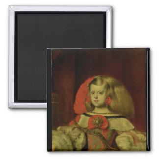 Retrato de la infanta Margarita Imán Cuadrado