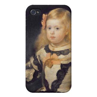 Retrato de la infanta Maria Marguerita 1654 iPhone 4/4S Carcasa