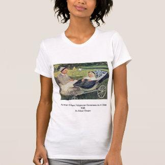 Retrato de la institutriz de Enrique Valpincon Camisetas