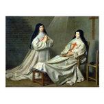 Retrato de la madre Catherine-Inés Tarjeta Postal