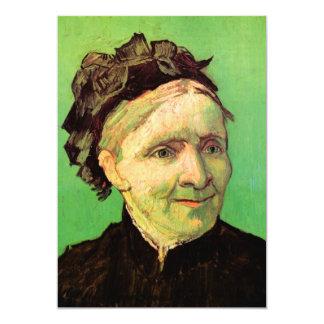 Retrato de la madre del artista de Van Gogh Invitación 12,7 X 17,8 Cm