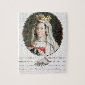 Retrato de la margarita de Provence (1219-95), 178 Puzzle