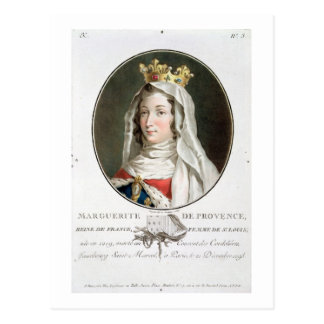 Retrato de la margarita de Provence (1219-95), 178 Postales