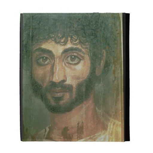 Retrato de la momia de un hombre, de Fayum, Romano
