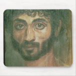 Retrato de la momia de un hombre, de Fayum, Romano Tapete De Ratones