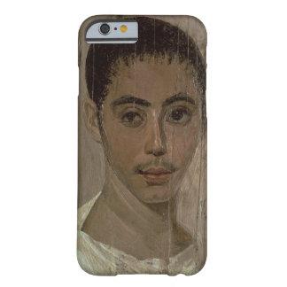 Retrato de la momia de un muchacho con un ojo funda de iPhone 6 barely there