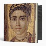 """Retrato de la momia de una mujer, de Fayum, Carpeta 1 1/2"""""""