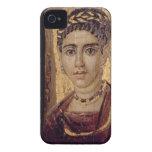 Retrato de la momia de una mujer, de Fayum, Romano Case-Mate iPhone 4 Carcasas