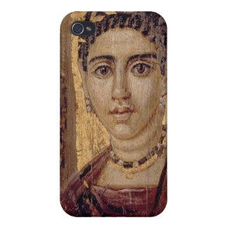 Retrato de la momia de una mujer, de Fayum, Romano iPhone 4/4S Funda