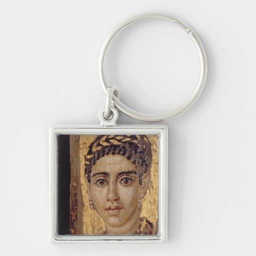 Retrato de la momia de una mujer, de Fayum, Romano Llaveros
