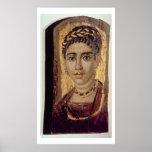 Retrato de la momia de una mujer, de Fayum, Romano Impresiones