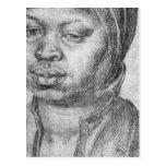 Retrato de la mujer africana Catherine Postales