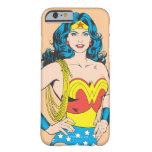 Retrato de la Mujer Maravilla Funda De iPhone 6 Barely There