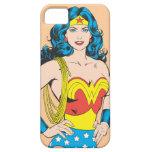 Retrato de la Mujer Maravilla iPhone 5 Case-Mate Carcasa