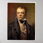 Retrato de la obra clásica Photochrom de sir Walte Poster