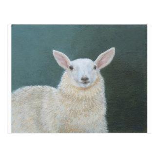 Retrato de la oveja postal