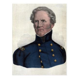 Retrato de la postal de Winfield Scott