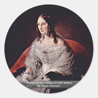 Retrato de la princesa Di Sant Antimo Etiquetas