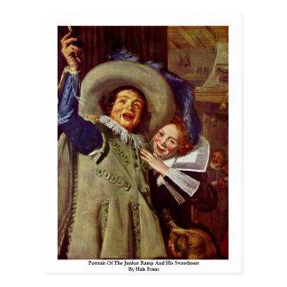 Retrato de la rampa del Junker y de su amor Postales