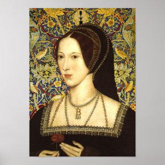 Retrato de la reina Ana Bolena Póster