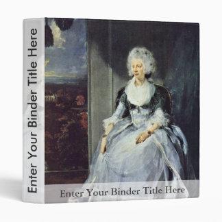 Retrato de la reina Charlotte de sir Thomas