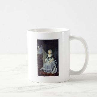 Retrato de la reina Charlotte de sir Thomas Tazas