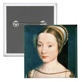 Retrato de la reina Claude Pin Cuadrado