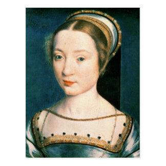 Retrato de la reina Claude Postal
