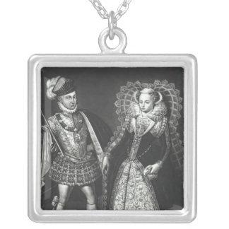 Retrato de la reina de Maria de escocés Collar