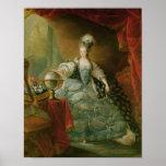 Retrato de la reina de Marie Antonieta de Francia Impresiones