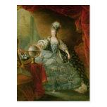 Retrato de la reina de Marie Antonieta de Francia Postales