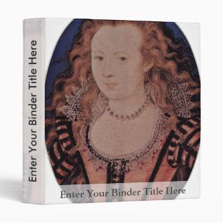 Retrato de la reina Elizabeth del óvalo de Bohemia