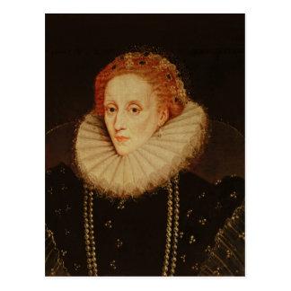 Retrato de la reina Elizabeth I Tarjetas Postales